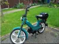 Vintage Tomas kickstart Scooter