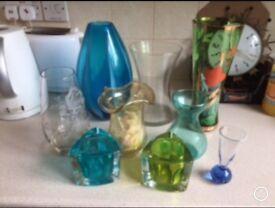 Job lot glassware
