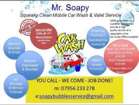 Mobile Car Valet/Car Wash And Headlight Restoration Service
