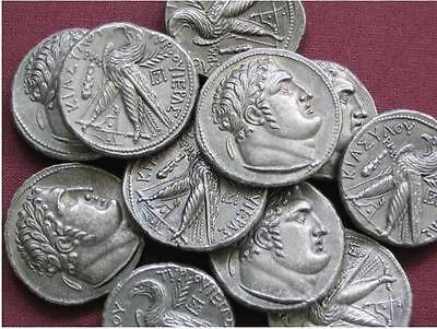 ROMAN JUDEAN PHOENICIA BIBLICAL SHEKEL TETRADRACHM JUDAS  COIN