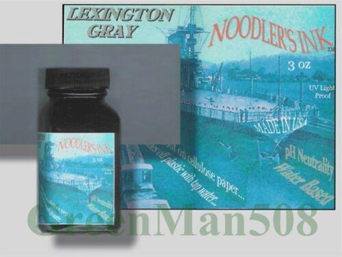 Noodler's Lexington Gray Archival Bullet Proof Ink 3 oz   #19043
