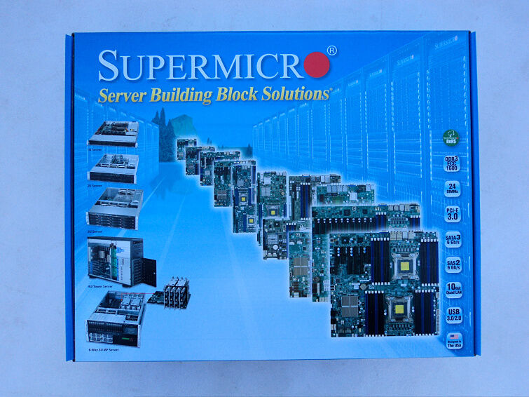 1pcs New Supermicro X8dtl-6l 1366 Motherboard (by Ems Or Dhl)  #q2254 Zx