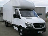 Man and Van from £15 p/h Professional Removal Services Same Day Deliveries Van Hire Essex Colchester