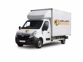 Cheap Reliable, Man With a Van, Large Luton Tail Lift Van, Specialists in House & Business Removals