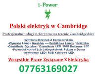 iPower Cambridge Electricial Service / Polski Elektryk W Cambridge Cambridgeshire Elektryka Polska