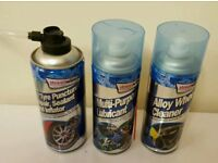 Streetwize Alloy wheels, Multipro Purpos Lubricant & Tyre Puncture Repair