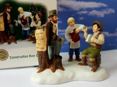 DEPT 56 New England Village CONVERSATION OVER COFFEE!   New     ()