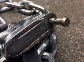 Axa Bike Lock - Very Tough Chain