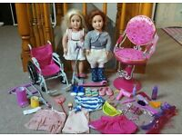 Our generation dolls and accessories