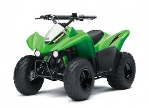 2017 Kawasaki KFX50 & KFX90 Youth Kids ATV Quad