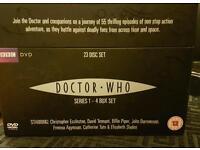 Doctor who DVD box set