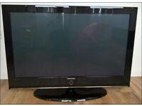 SAMSUNG 42 INCH TV + REMOTE CONTROL HAS SMALL FAULT