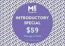 Massage Envy Introductory Special - $59 massage or facial. Lane Cove Lane Cove Area Preview