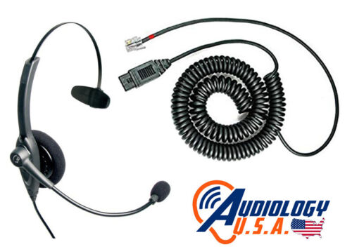 NEW OEM GSI 61 Audiometer Operator microphone / monitor noise canceling headset