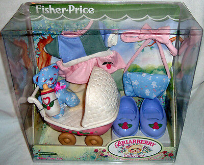 Briarberry Collection Baby Care Set Furniture Bear Fisher Price 2000 Toy