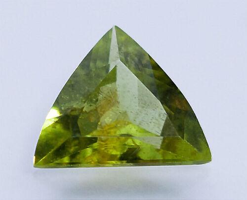 VERY RARE ET GEMSTONE 0.56ct Pallasitic Peridot. GIA Cert 100% Natural Untreated