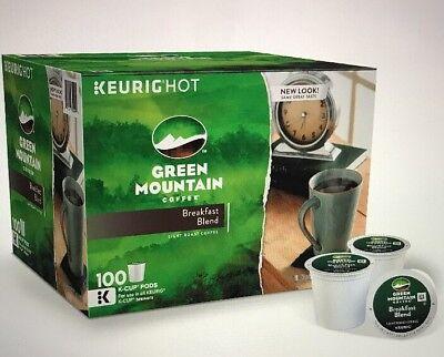 Keurig Hot Green Mountain Breakfast Combination 100 Ct