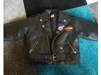Harley Davidson youth leather jacket