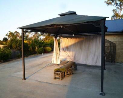 Steel Frame Gazebo 3m x 3m New Beith Logan Area Preview