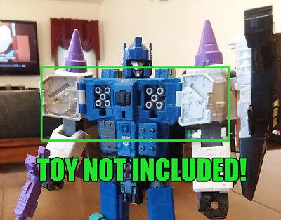DSA Transformers Titans Return Overlord chest cannon inserts.