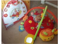 Baby play mat with music very good condition almost new