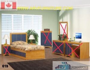Demo model mated bed single size
