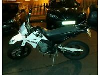 2010 Yamaha xt 125cc On Road Learner Legal Supermoto Dirt Bike