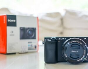 Sony a6000 with choice of lens, beautiful MINT 10/10