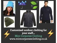 Expert logo embroidery on high quality workwear
