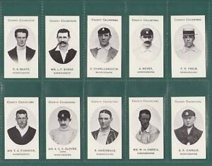 NOSTALGIA-REPRINTS-SET-OF-15-TADDY-COUNTY-CRICKETERS-WARWICKSHIRE-CARDS