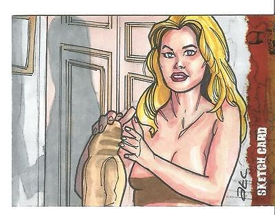 The Wicker Man Sketch Card created by ATC Adam Cleveland [ 4 ] ()