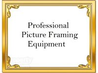 Professional Picture Framing Equipment For Sale