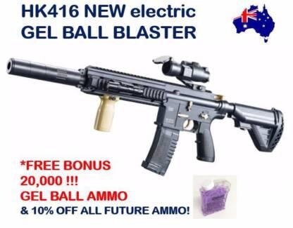 HK416 Assault Rifle Gel Ball Gun BRAND NEW! Top 10 Boys Toy