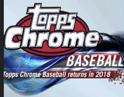 2018 Topps Chrome Pink Refractors, Complete Your Set, You Pick, Mint, Free Ship
