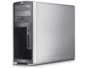 HP XW9400 Workstation AMD Opteron 16GB RAM NvidiaQuadro video W7