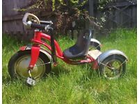 Red children's trike