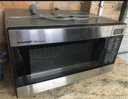 sharp 1100 watt microwave. sharp carousel microwave 1100 watt o