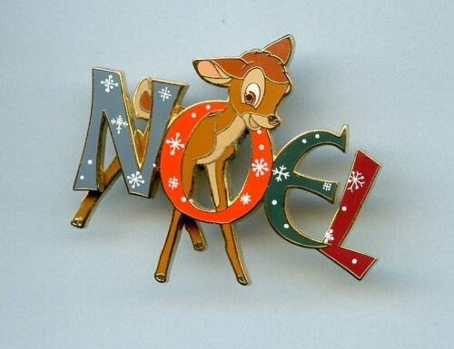 Disney Catalog Advent Series Bambi NOEL Holiday LE Pin