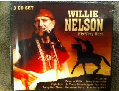 Willie Nelson His Very Best OOP 3 CD box set - rare - 52
