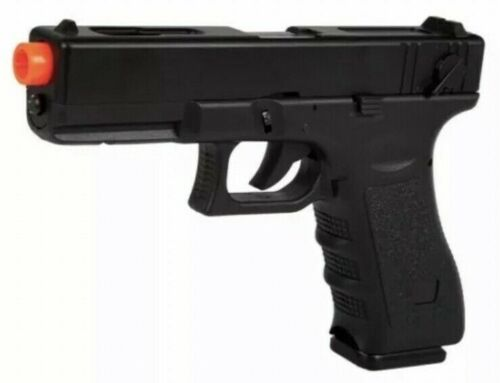 BEST QUALITY GLOCK 17 FULL SIZE METAL SPRING AIRSOFT PISTOL w/300 FREE 6mm BBs