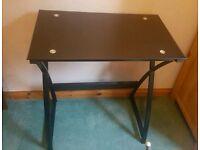 Compact Glass Desk