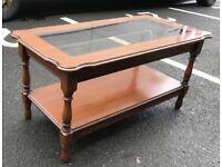 Glass Top Coffee Table (@07752751518)