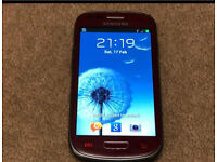 Samsung Galaxy S3 Mini Red Unlocked