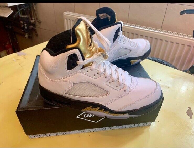 new style a9fcf cd7c1 nike air jordan retro 5 olympic gold coin | in Leytonstone, London | Gumtree