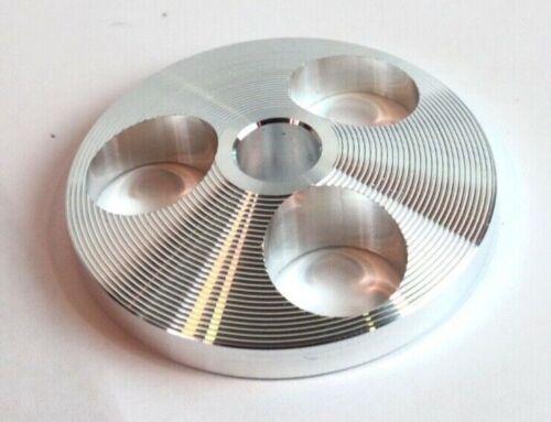 CNC Machines Aircraft Grade Aluminum 45 RPM Record Adapter!