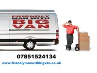 MAN AND VAN HIRE - HOUSE OR OFFICE MOVE - COLLECTION OR DELIVERY - SHORT NOTICE - 7 Days a Week
