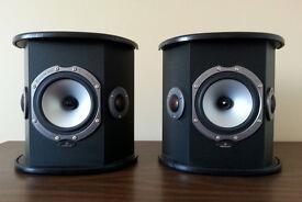 Monitor Audio Bronze BX Black Oak Surround Speakers (Pair)