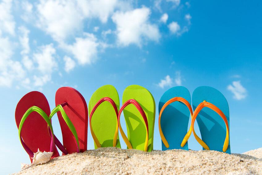 Legere Sommerschuhe: Flip-Flops