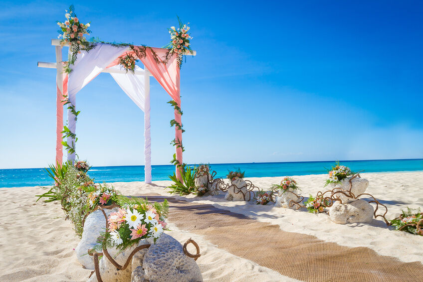 How To Make A Beach Wedding Arch
