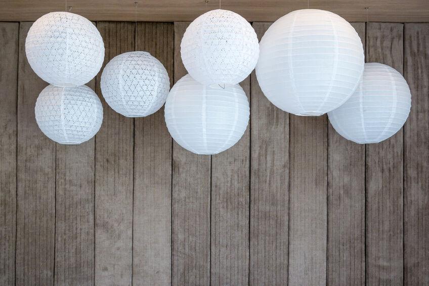 Designfokus: Kugelförmige Lampen